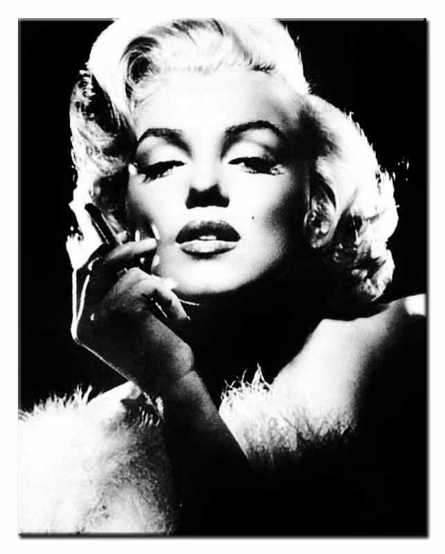 Obraz Marilyn Monroe 40x50cm Pigmejkapl