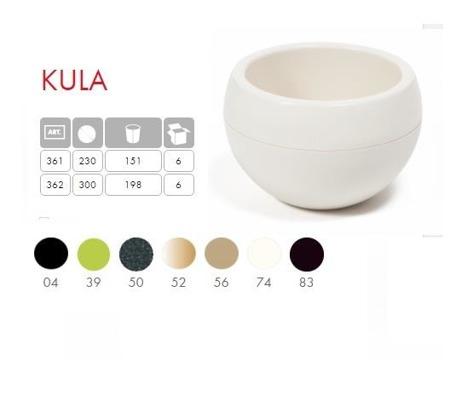 Doniczka Kula Mix Color śr.300 mm H: 19,8 cm Kolor Mokka