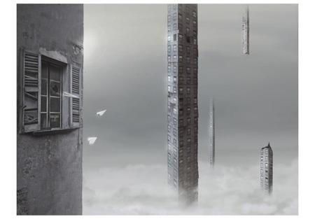 Fototapeta - Betonowe wieże