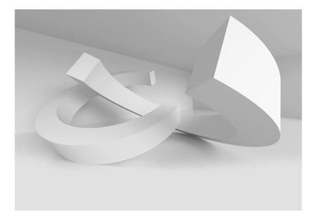 Fototapeta - Biały duet