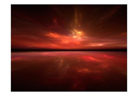 Fototapeta - Fire in the sky