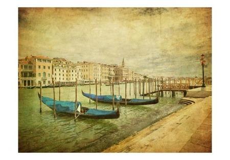 Fototapeta - Grand Canal, Venice (Vintage)