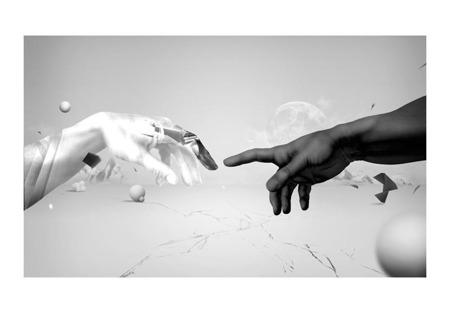 Fototapeta - Intergalactic touch
