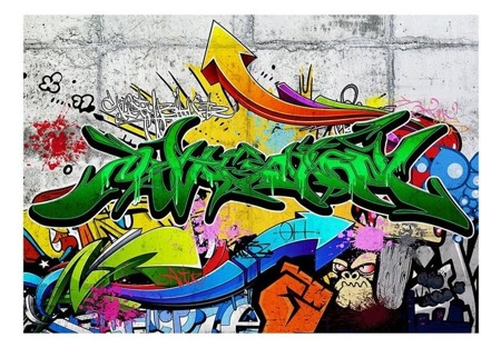Fototapeta - Miejskie graffiti