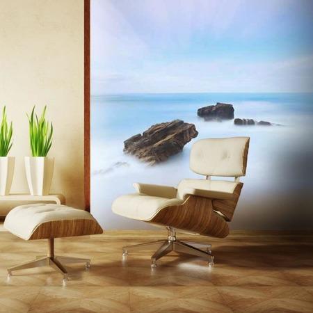 Fototapeta - Seascape - three rocks