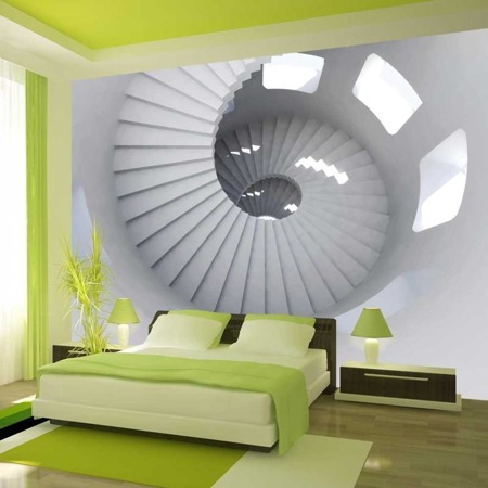 Fototapeta - Spiralne schody