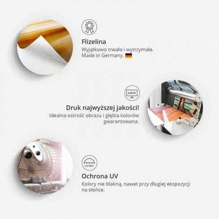 Fototapeta - Sztućce - pomarańcz i zieleń