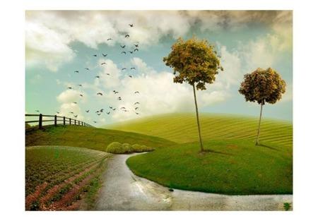 Fototapeta - jesień - krajobraz