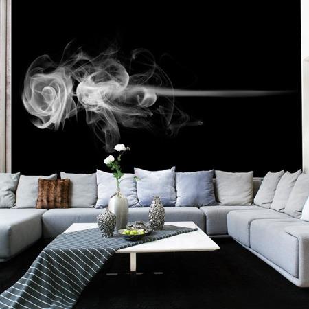 Fototapeta - róża (dym)