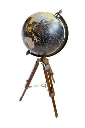 Globus Adventure na trójnogu drewnianym H:54CM
