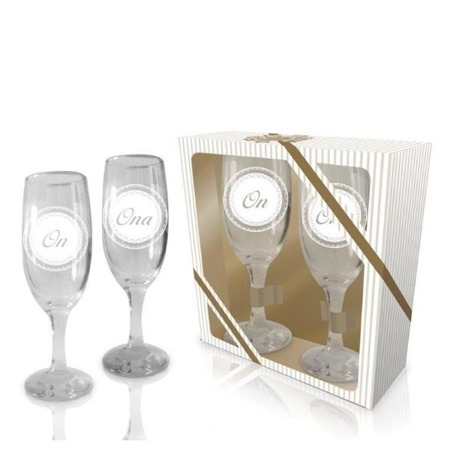 Kieliszki do szampana On Ona 2 szt