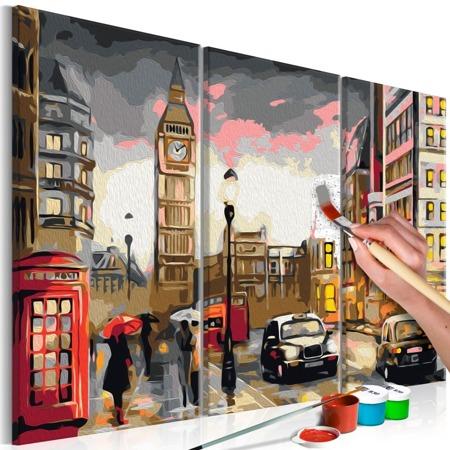 Obraz do samodzielnego malowania - Londyńska ulica