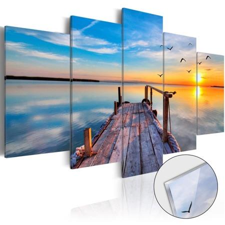 Obraz na szkle akrylowym - Jezioro wspomnień [Glass]