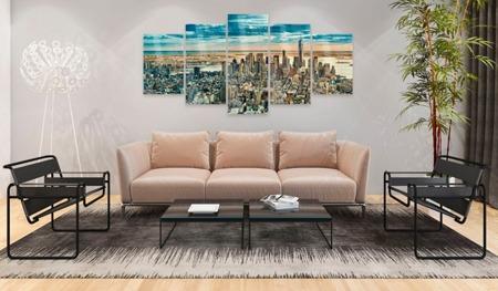 Obraz na szkle akrylowym - NY: Miasto marzeń [Glass]