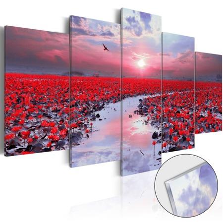 Obraz na szkle akrylowym - Rzeka miłości [Glass]