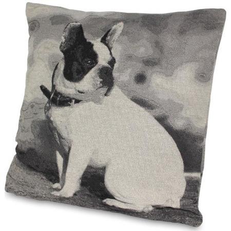 Poduszka dekoracyjna z psem