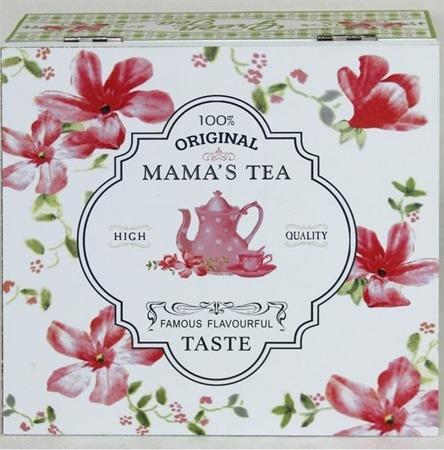 Skrzyneczka na herbatę Mama`S Tea 7x18x18